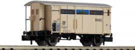BRAWA 67867 Güterwagen K2 | Brauerei Warteck | SBB | Spur N online kaufen