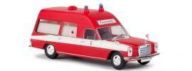 BREKINA 13802 Mercedes-Benz /8 W114/W115 Krankenwagen Feuerwehr Frankfurt Blaulichtmodell 1:87 online kaufen