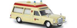 BREKINA 13807 Mercedes-Benz /8 W114/W115 Krankenwagen Malteser Blaulichtmodell 1:87 online kaufen