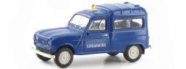 BREKINA 14720 Renault R4 Fourgonnette Gendarmerie | Blaulichtmodell 1:87 online kaufen
