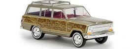 BREKINA 19856 Jeep Wagoneer gold woody Automodell 1:87 online kaufen