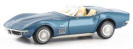 BREKINA 19971 Corvette C3 Cabrio blau-metallic | Automodell 1:87 online kaufen