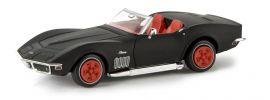BREKINA 19973 Corvette C3 Cabrio mattschwarz TD | Modellauto 1:87 online kaufen