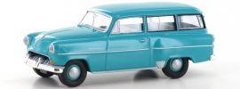 BREKINA 20232 Opel Olympia CarAVan tü�rkis | Automodell 1:87 online kaufen