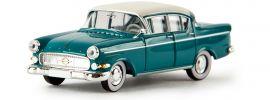 BREKINA 20836 Opel Kapitän P2.5  wasserblau Automodell 1:87 online kaufen
