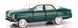 BREKINA 20865 Opel Kapitän '54, opalgrün Automodell 1:87 online kaufen