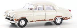 BREKINA 20873 Opel Kapitän weiss RIP | Automodell 1:87 online kaufen