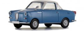 BREKINA 27850 Goggomobil Coupé blau weiss | Automodell 1:87 online kaufen