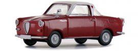 BREKINA 27851 Goggomobil Coupé rot weiss | Automodell 1:87 online kaufen