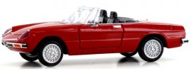 BREKINA 29600 Alfa Romeo Spider 2000 rot Automodell 1:87 online kaufen