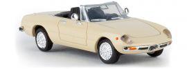BREKINA 29601 Alfa Romeo Spider 2000 hellelfenbein Automodell 1:87 online kaufen