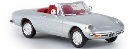 BREKINA 29602 Alfa Romeo Spider 2000 silber Automodell 1:87 online kaufen