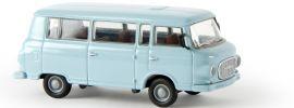 BREKINA 30036 Barkas B 1000 Bus hellbalu | Modellauto 1:87 online kaufen