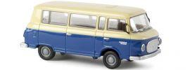 BREKINA 30039 Barkas B 1000 Bus beige/blau | Modellauto 1:87 online kaufen