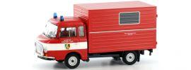 """BREKINA 30358 Barkas B 1000 Koffer """"FW Leipziger Land"""" Blaulichtmodell 1:87 online kaufen"""