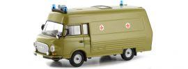 BREKINA 30412 Barkas B 1000 SMH 3 oliv | Blaulichtmodell 1:87 online kaufen