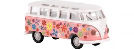 BREKINA 31840 VW Samba T1b | Flower Power | Modellauto 1:87 online kaufen