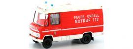 BREKINA 36910 MB L 508 RTW BF Mülheim '70 Blaulichtmodell 1:87 online kaufen