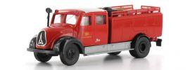 BREKINA 42254 Magirus Mercur TLF 16 Bahnfeuerwehr Modellauto 1:87 online kaufen