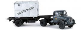 BREKINA 42267 Magirus Mercur Container mit Container DB   LKW-Modell 1:87 online kaufen