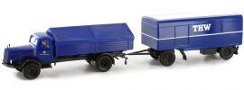 BREKINA 44310 MB L 325 mit Anhänger THW   LKW-Modell 1:87 online kaufen
