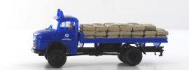BREKINA 47120 MB LA 322 THW mit Sandsäcken | Modell-Lkw 1:87 online kaufen