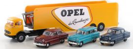 BREKINA 48032 MB LPS 338 Autotransporter mit 3 Opel Modellen | LKW-Modell 1:87 online kaufen