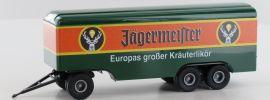 BREKINA 55293 Anhänger 3achs Koffer Jägermeister | Anhänger 1:87 online kaufen