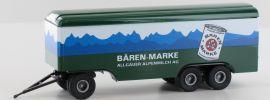 BREKINA 55294 Anhänger 3achs Koffer Bären-Marke | Anhänger 1:87 online kaufen