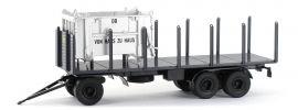 BREKINA 55303 Anhänger 3achs Rungen DB | Anhänger-Modell 1:87 online kaufen
