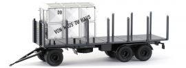 BREKINA 55304 Anhänger 3achs Rungen DB   Anhänger-Modell 1:87 online kaufen
