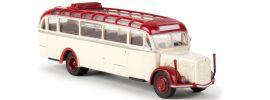 BREKINA 58076 Saurer BT 4500 offen hellelfenbein/rot | Starline | Modell-Bus 1:87 online kaufen