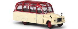 BREKINA 58180 Hanomag L28 Lohner-Bus rot beige Busmodell 1:87 online kaufen