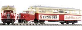 ausverkauft   BREKINA 64220 Borgward Schienenbus LT3 Becks Bier   Sylter Bahn   AC   Spur H0 online kaufen
