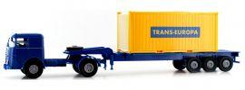 BREKINA 79218 Büssing 20ft Boxcontainer-SZ Trans Europa | LKW-Modell 1:87 online kaufen