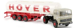 BREKINA 81043 MB LPS 1620 Sattelzug Tank Hoyer | Modell-Lkw 1:87 online kaufen