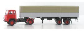 BREKINA 85153 Scania LB 76 Pritsche-Plane-Sattelzug rot grau LKW-Modell 1:87 online kaufen