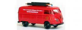 BREKINA 932180 VW T1B Transporter Werkfeuerwehr Zeller und Gmelin Blaulichtmodell 1:87 online kaufen