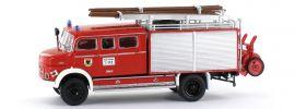 BREKINA 94710 Mercedes LAF 1113 LF 16 Feuerwehr | Blaulichtmodell 1:87 online kaufen
