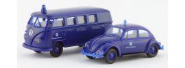 BREKINA 99266 PKW-Set THW mit VW Käfer und VW T1 Bus Blaulichtmodelle 1:87 online kaufen