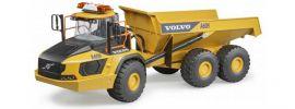 Bruder 02455 Volvo A60H Dumper | Baumaschinenmodell 1:16 online kaufen