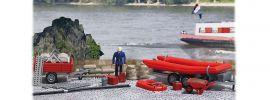 BUSCH 1077 Feuerwehrset Hochwasserschutz Bausatz 1:87 online kaufen