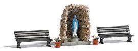 BUSCH 1095 Lourdesgrotte Bausatz Spur  H0 online kaufen
