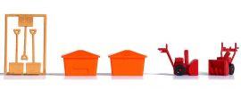 BUSCH 1181 Winterausrüstung Bausatz Spur H0 online kaufen