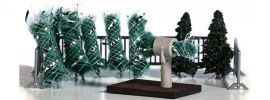 BUSCH 1182 Weihnachtsbaumverkauf Bausatz Spur H0 online kaufen