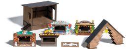 BUSCH 1183 Wald-Weihnachtsmarkt ECHTHOLZ-Bausatz Spur H0 online kaufen