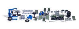 BUSCH 1184 Schrauberwerkstatt Ausstattung Bausatz Spur H0 online kaufen