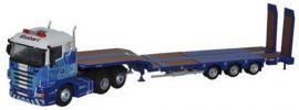 BUSCH OXFORD 120419 Scania R Highline Tiefladesattelzug Stobart Rail  LKW-Modell 1:160 online kaufen