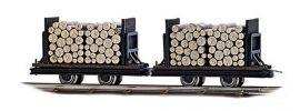 BUSCH 12211 Wagen mit Rundholz 2 Stück Spur H0f online kaufen