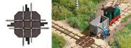 BUSCH 12340 Gleiskreuzung Feldbahnsystem Busch Spur H0f online kaufen